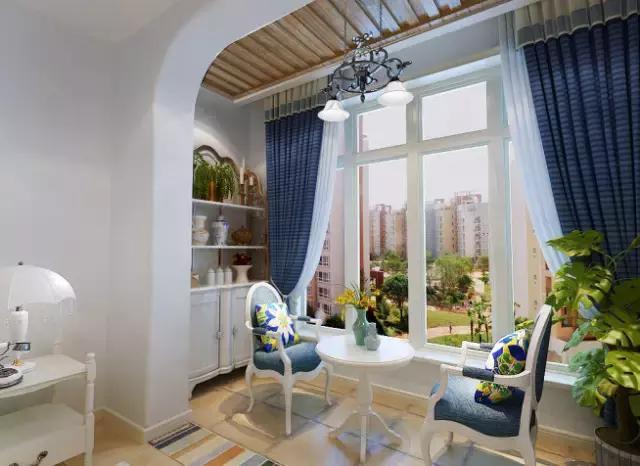 阳台和客厅隔断设计图展示