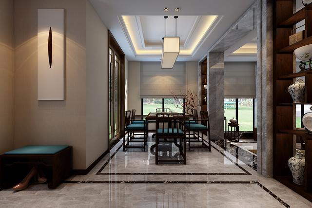 新中式风格装修案例赏析 活泼灵动的生活氛围