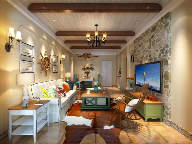 地中海风格装修效果图 亲近自然的生活住宅