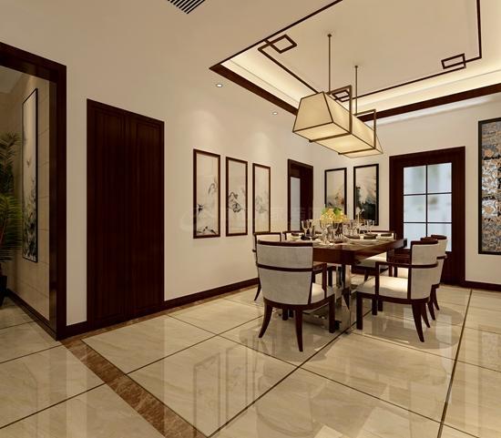200平中式风格装修 含蓄、典雅的经典之作