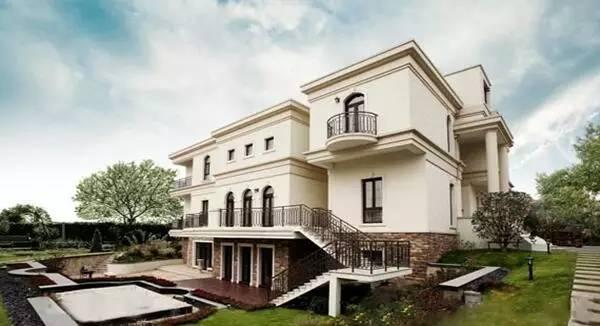 豪华大型别墅外观设计 豪华大型别墅图片
