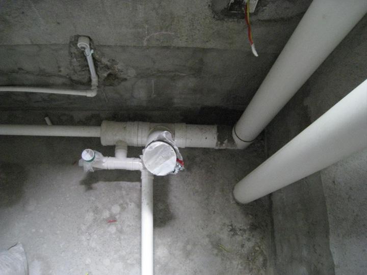 卫生间二次排水的具体做法图片