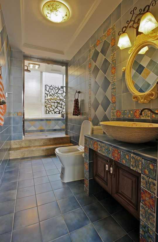 瓷砖洗手台施工步骤图
