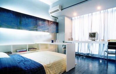 两间卧室打通装修效果图