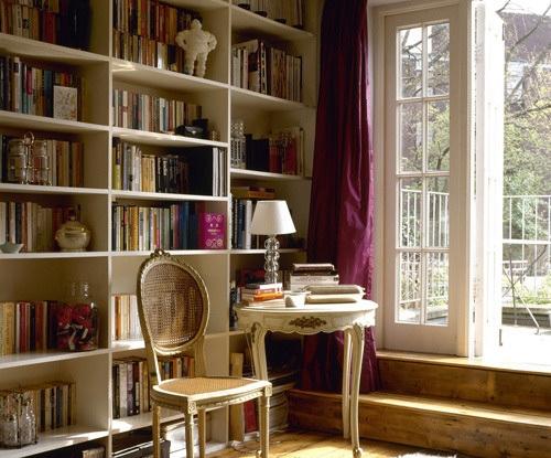 书房休闲区效果图