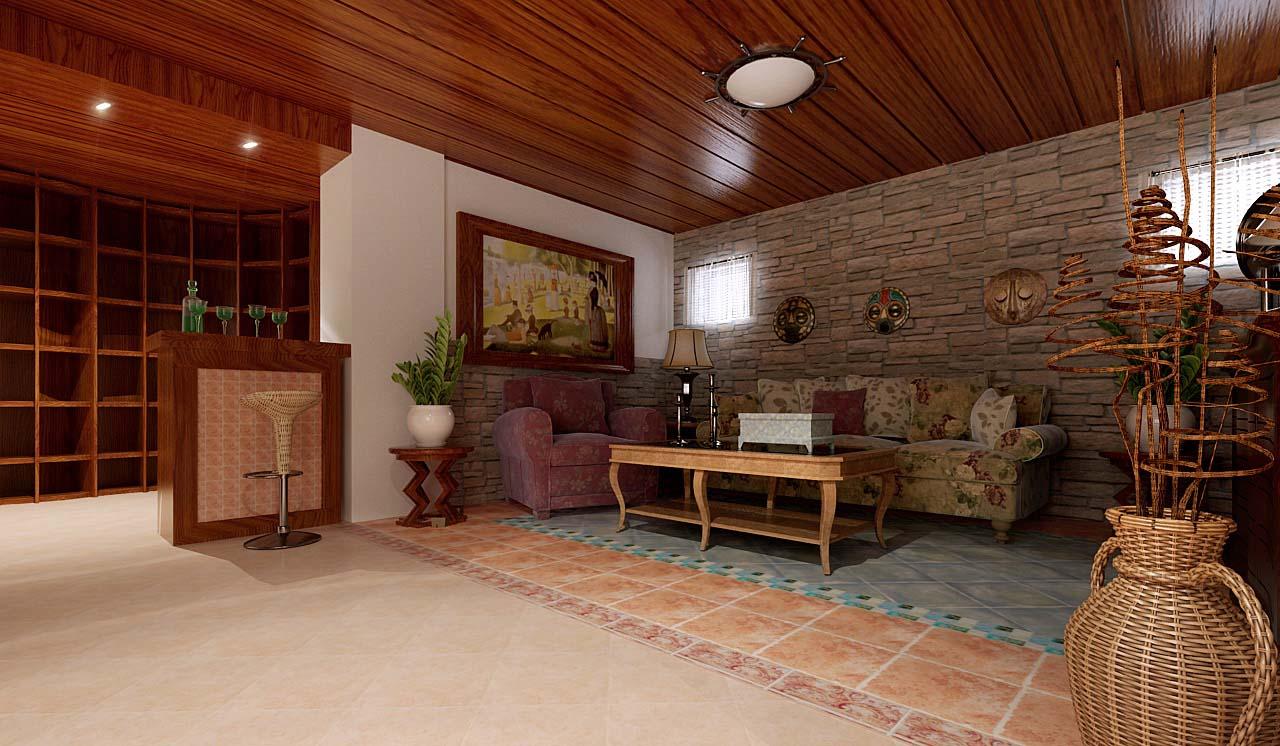 同时也反映在装修上对各种仿古墙地砖,石材的偏爱和对各种仿旧工艺的图片