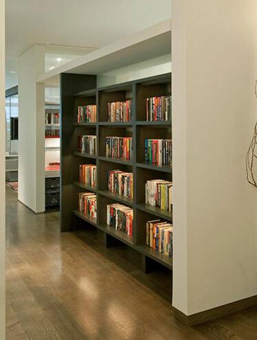 从视觉上产生愉悦性的时尚书房装修设计效果图的全部内容了.图片