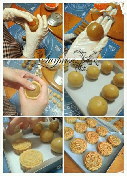 手工diy:月饼diy手工制作流程