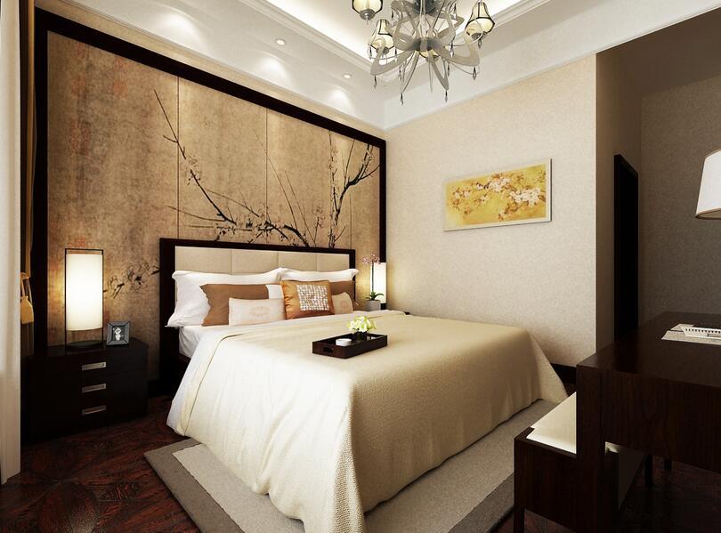 臥室配景牆裝修圖