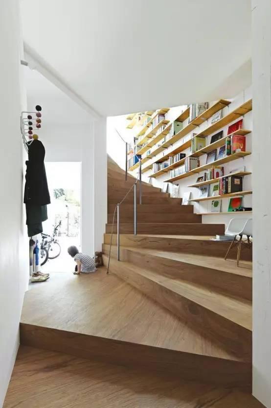 看完别人家的书房装修 你会发现你家只是书架
