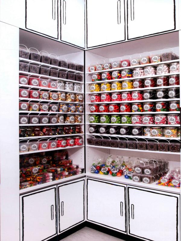 甜品餐厅室内设计效果图