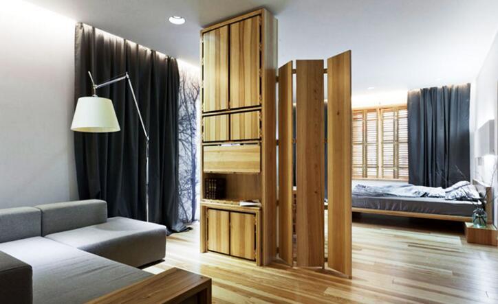 卧室移动隔断墙装修设计 卧室移动隔断墙效果图