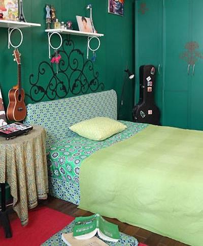 60平米森系卧室装修设计及效果图欣赏