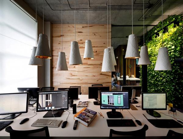 建筑设计工作室的办公室 最好的宣传广告