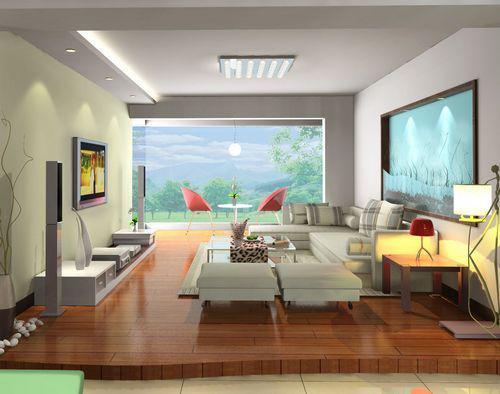 木地板颜色与室内墙面的色彩搭配