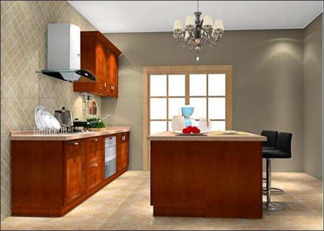 吧台采用半圆形和矩形相结合的方式,吧柜上方悬挑一块顶棚,顶棚上嵌入