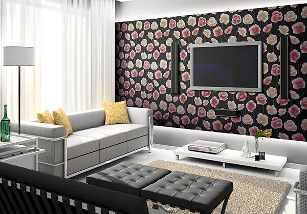 五种不同款式北欧风格装修壁纸图片