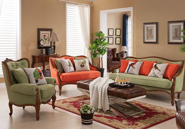 美式沙发彰显美国人洒脱做派图片