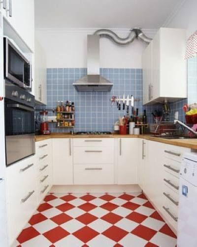 欧式田园厨房装修效果图