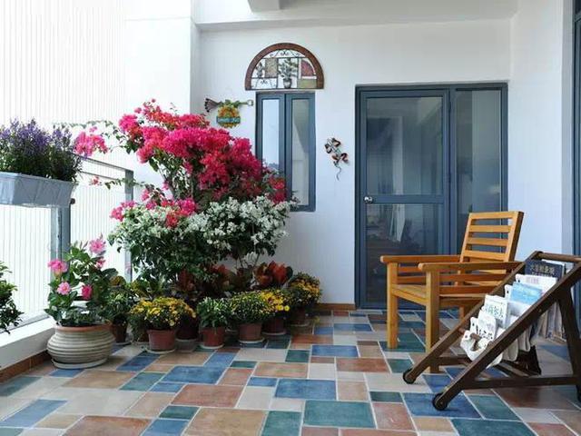 其实,地中海的阳台是最浪漫的一处风景.