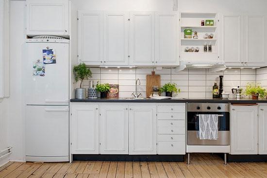清雅白色系北欧风格家居-装修保障图片