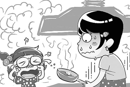 """健康至上现代生活 开放式厨房""""戒烟""""记"""