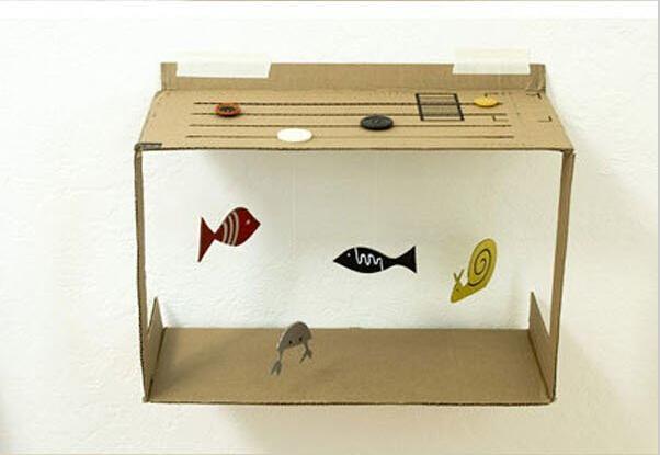家具diy:废纸板手工diy成小朋友的玩具