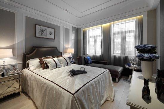 背景墙 房间 家居 起居室 设计 卧室 卧室装修 现代 装修 550_367图片