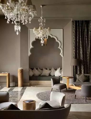 客厅装修摩洛哥风格 会是种怎样的异域风情?