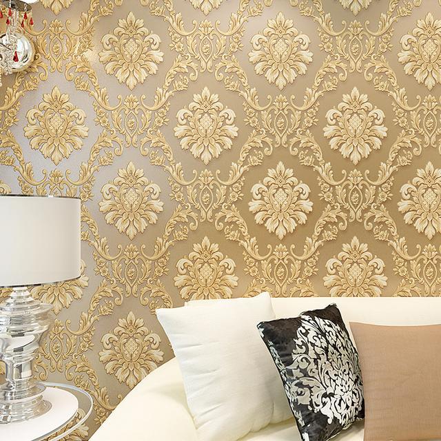 欧式壁纸3d墙纸无纺布图片