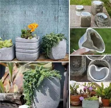 分享水泥花盆的步骤