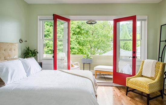 阳台可以扩展成为房间,成为阳台卧室.图片