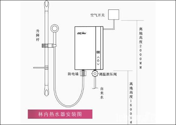 林内热水器的安装方法 林内热水器安装费用