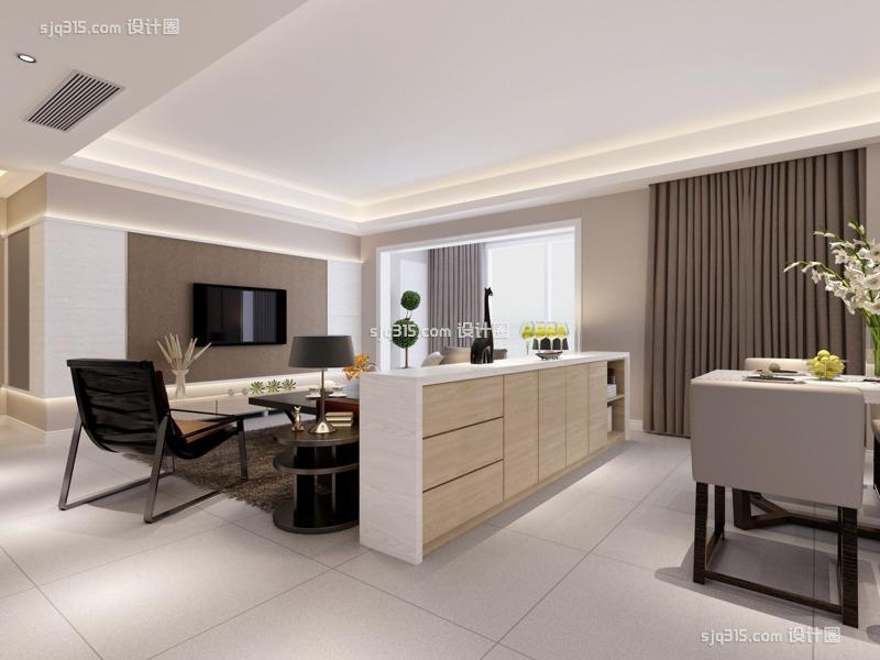 厦门有哪些知名的室内设计师?厦门室内设计大平面设计上升的空间图片