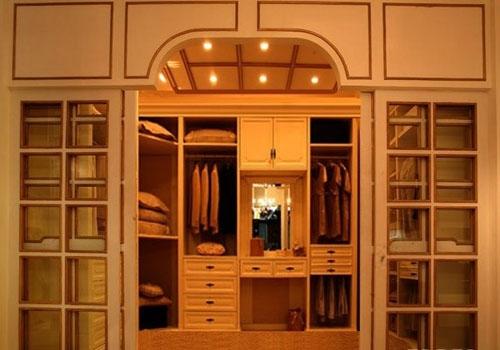 装修保障网 装修学堂 房屋装修 衣帽间装修技巧 带给你家居设计亮点