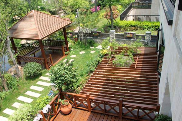 平米中式风格庭院设计 让幸福永驻你家       这是我家后花园的地下室图片