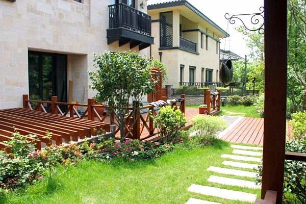 480平米中式风格庭院设计 让幸福永驻你家图片