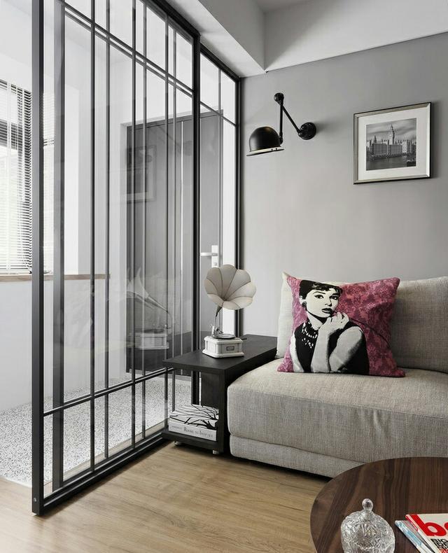 黑白灰后现代风格装修案例 简洁、素雅尽显低