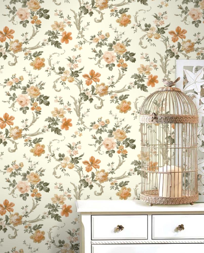如何选择适合自己的家装墙纸呢 墙纸色彩搭配