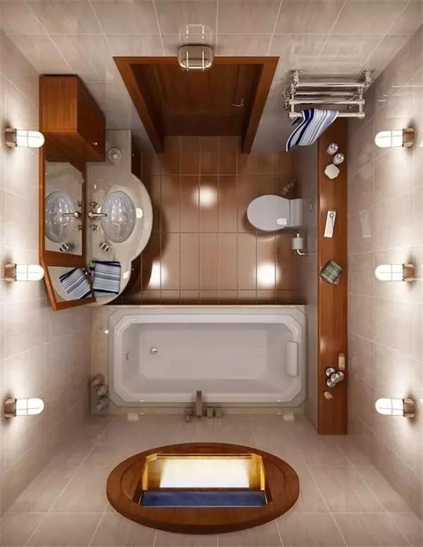 小空间卫生间装修设计案例 5平米也实用