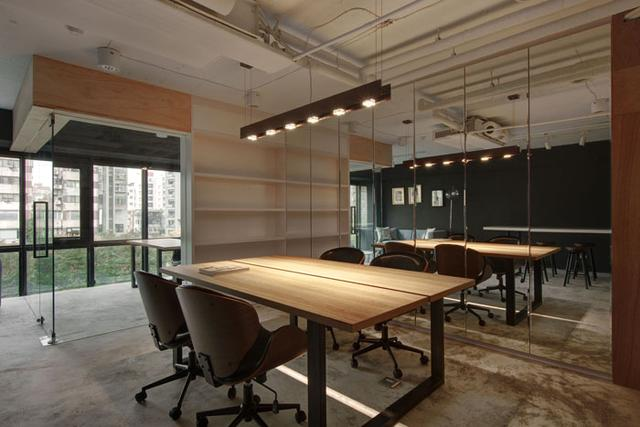 40平米的loft办公室装修效果图
