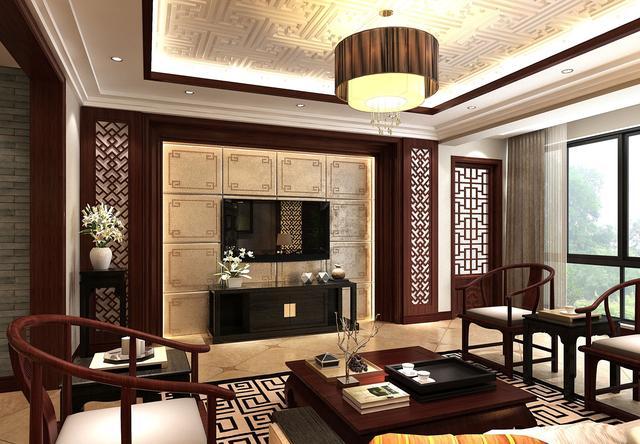 23张图带你看懂新中式风格装修 属于中国人的豪宅图片