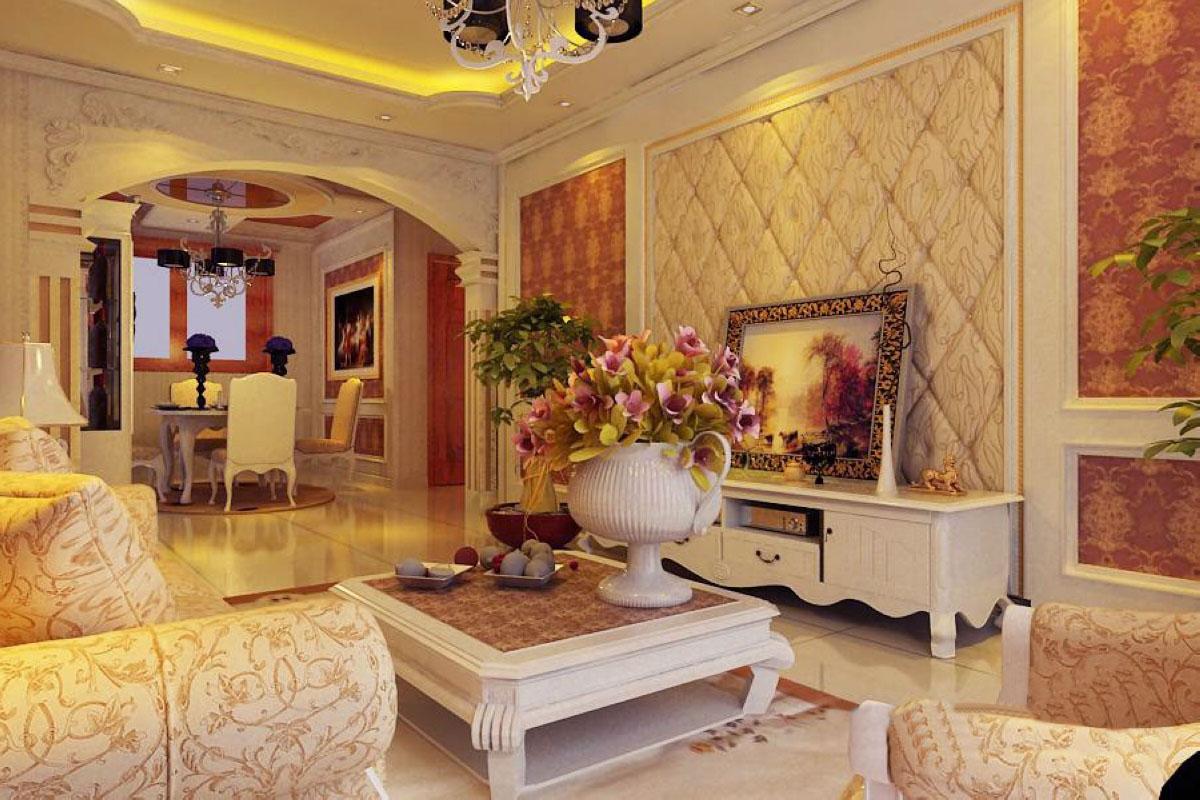 典型的古典欧式风格 欧式古典风格装修烘托豪华效果