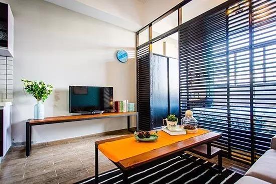 60平米公寓装修案例 两个人住才幸福