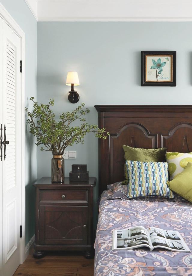 125㎡简约美式风 静谧悠然之家图片