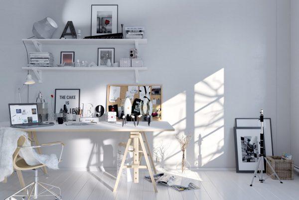提到北欧风格,很多人的第一反应就是高冷范。简约的黑白灰色调,干净利落的线条,这是北欧风给人的第一印象,北欧风以简洁著称,宁静而不奢华。北欧风的家庭工作环境,更加深入的表现出了它的特点,今天装修网小编给大家分享25款北欧风格家庭工作空间设计,简约不奢华,给你干练的感受。