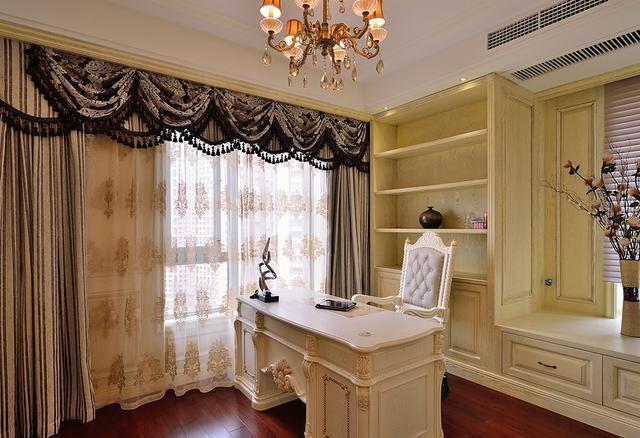 现代欧式风格装修效果图 奢华大气不输别墅