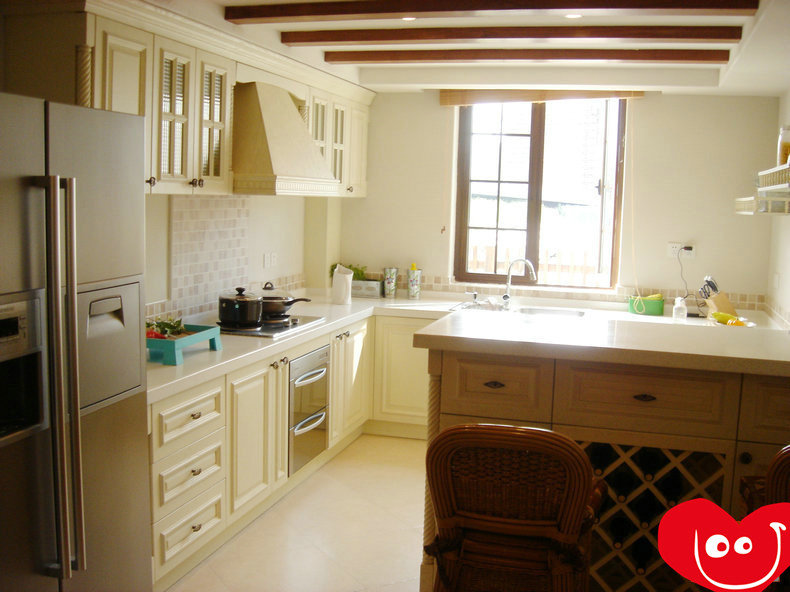 美式厨房岛台装修设计