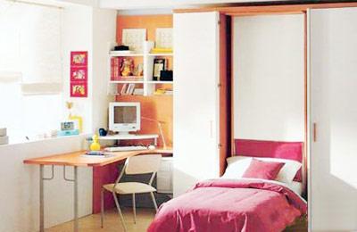 卧室分隔效果图