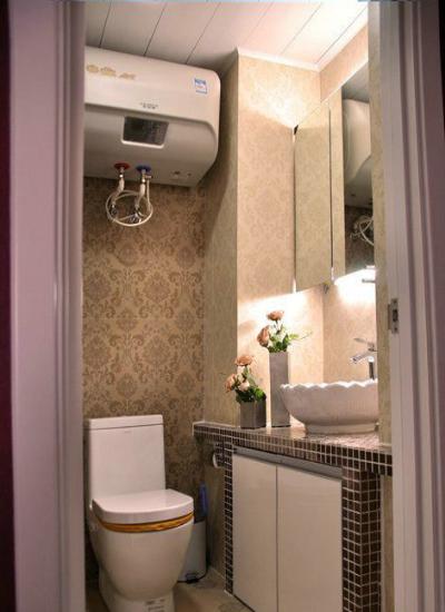4平方米卫生间装修大法 小小空间大用处